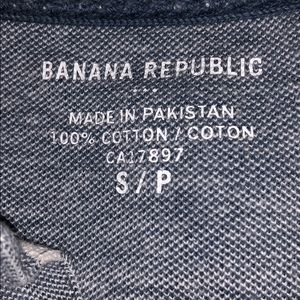 Banana Republic Shirts - Bannana Republic Polo Short Sleeve